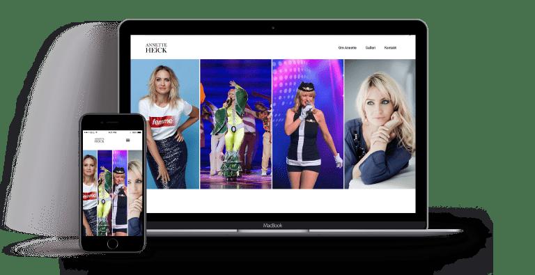 AnnetteHeick webdesign wordpres