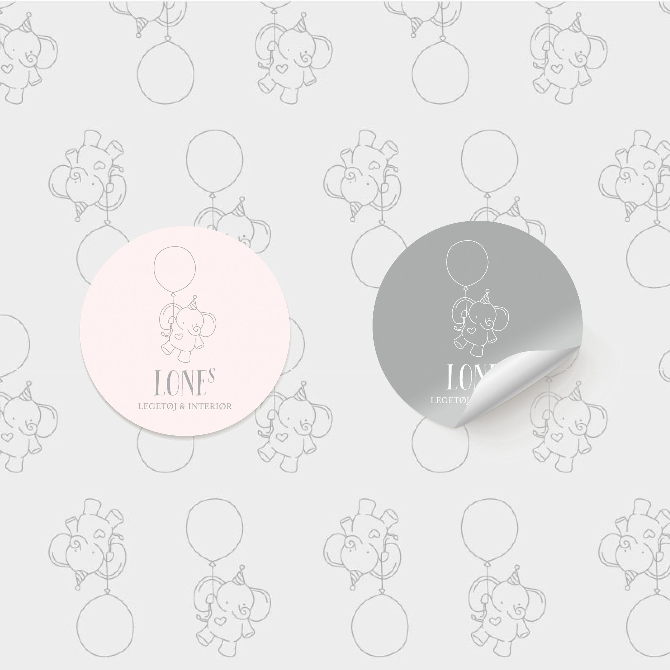 Grafisk design klistermærker