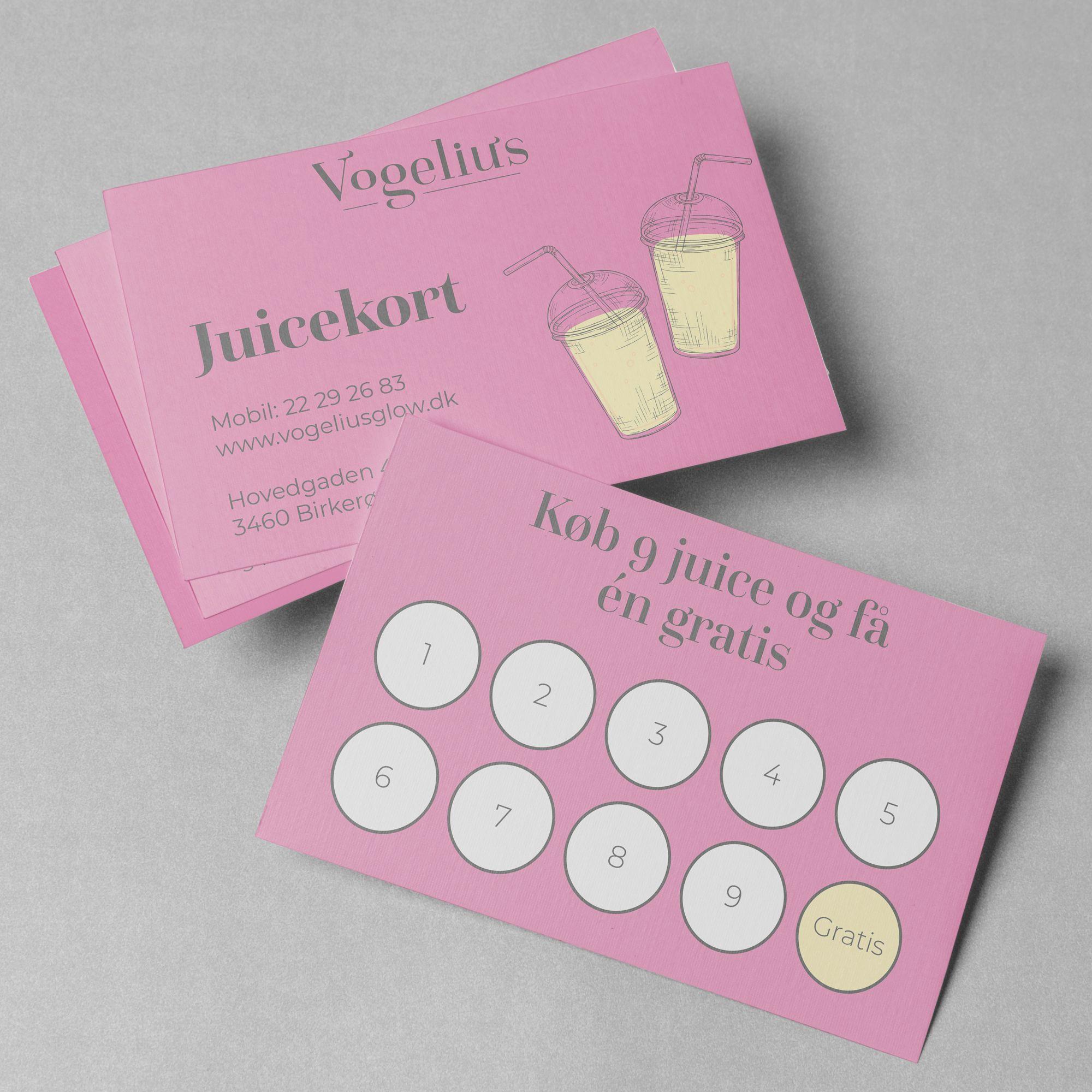 grafisk designer juicekort