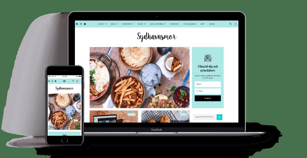 webdesign for kostvejleder sydhavnsmor
