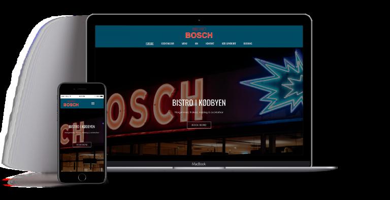 webdesign BistroBosch