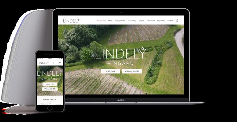 WEBDESIGN i wordpress Lindely