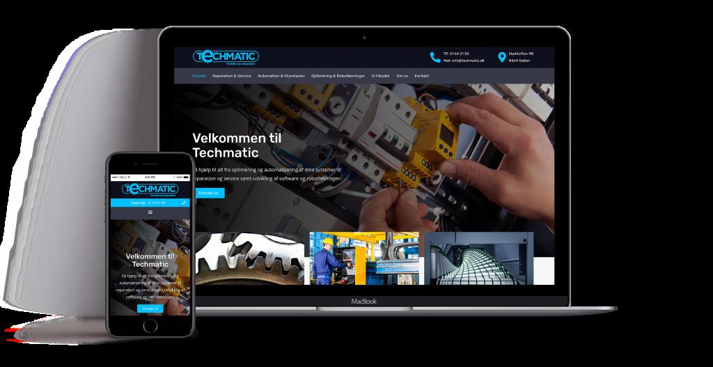 website design TechMatic