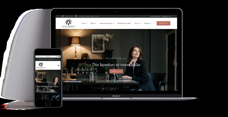 wordpress webdesign bureau Hotel Hebron