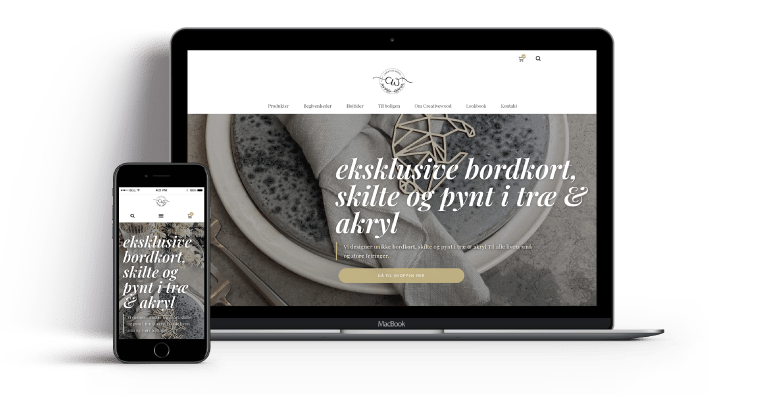 wordpress website Creative_wood